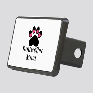 Rottweiler Mom Paw Print Hitch Cover