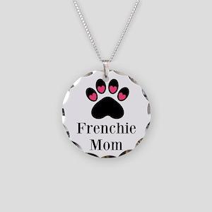 Frenchie Mom Paw Print Necklace