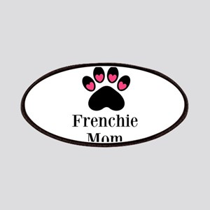 Frenchie Mom Paw Print Patches