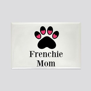 Frenchie Mom Paw Print Magnets