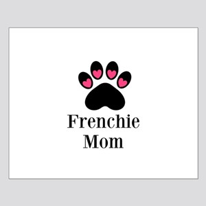 Frenchie Mom Paw Print Posters