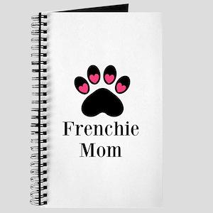 Frenchie Mom Paw Print Journal