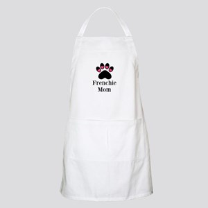 Frenchie Mom Paw Print Apron