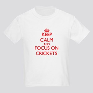 Keep Calm and focus on Crickets T-Shirt