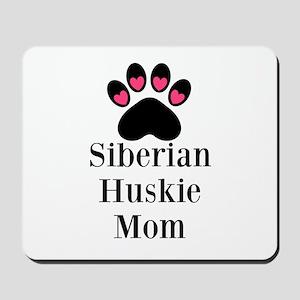 Siberian Huskie Mom Mousepad