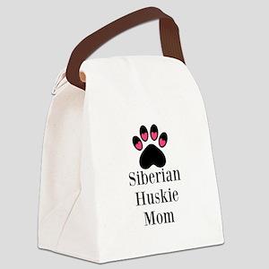 Siberian Huskie Mom Canvas Lunch Bag