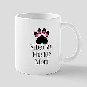 Siberian Huskie Mom Mugs