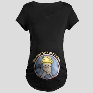 A Little Pinch Maternity Dark T-Shirt