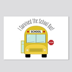 I Survied The School Bus Postcards (Package of 8)
