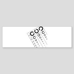 Visual_Acuity_Testing Bumper Sticker