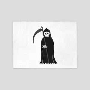 Grim Reaper 5'x7'Area Rug