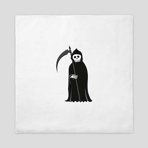 Grim Reaper Queen Duvet
