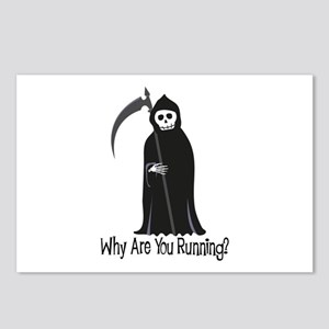 Why Are You Running? Postcards (Package of 8)