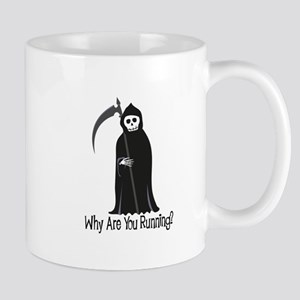 Why Are You Running? Mugs