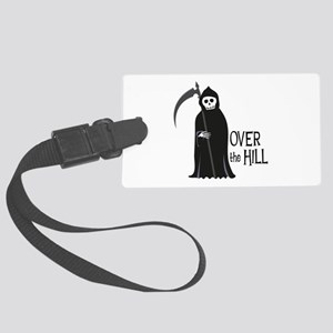 Over The Hill Luggage Tag