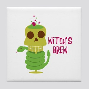 Witch's Brew Tile Coaster