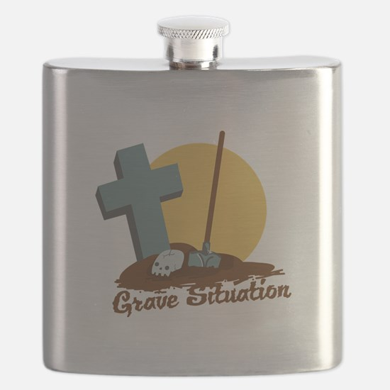 Grave Situation Flask