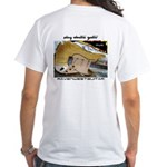Front And Back Skymaster White T-Shirt