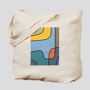 Abstract Digital Illustration Tote Bag