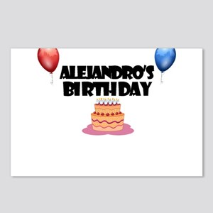 Alejandro's Birthday Postcards (Package of 8)