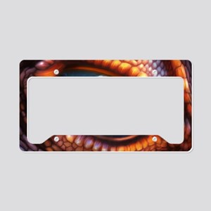 Dragon Eye License Plate Holder