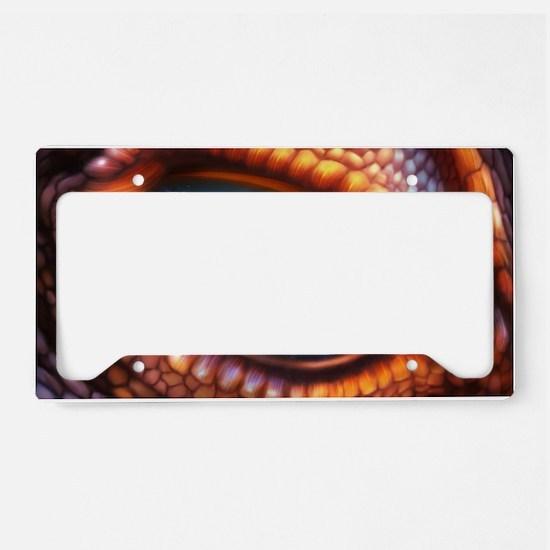 Dragon Eye License Plate Holder