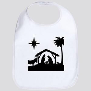Nativity Scene Bib