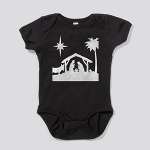 Nativity Scene Baby Bodysuit
