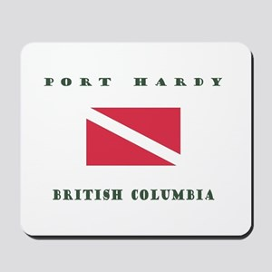 Port Hardy British Columbia Dive Mousepad
