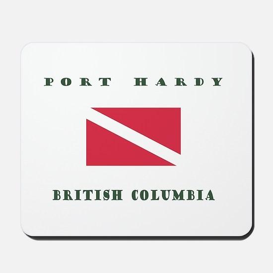 Port Hardy British Columbia Dive Mousepad