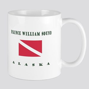 Prince William Sound Alaska Dive Mugs