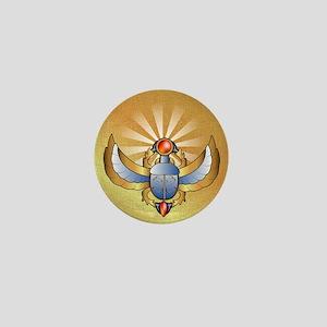 Beautiful scarab Mini Button