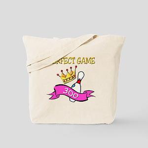 Perfect Game (pink) Tote Bag