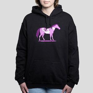 Purple Horse Women's Hooded Sweatshirt