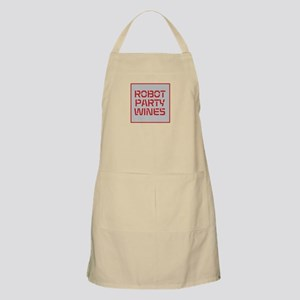 ROBOT PARTY RED Apron