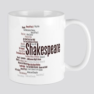 Shakespeare's Plays Mugs