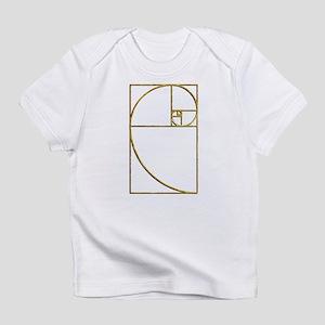 Golden Ratio Sacred Fibonacci Spiral Infant T-Shir