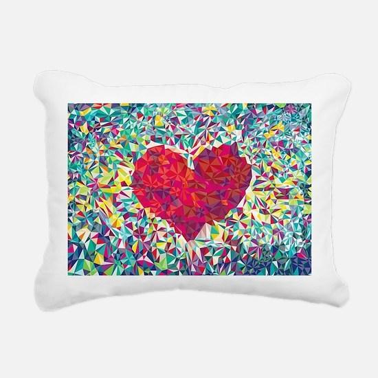 Cute Abstract Rectangular Canvas Pillow