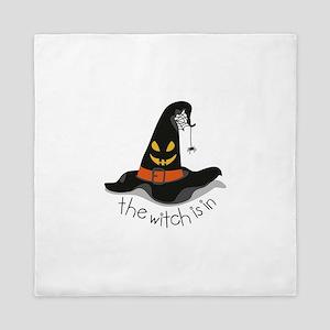 The Witch Is In Queen Duvet