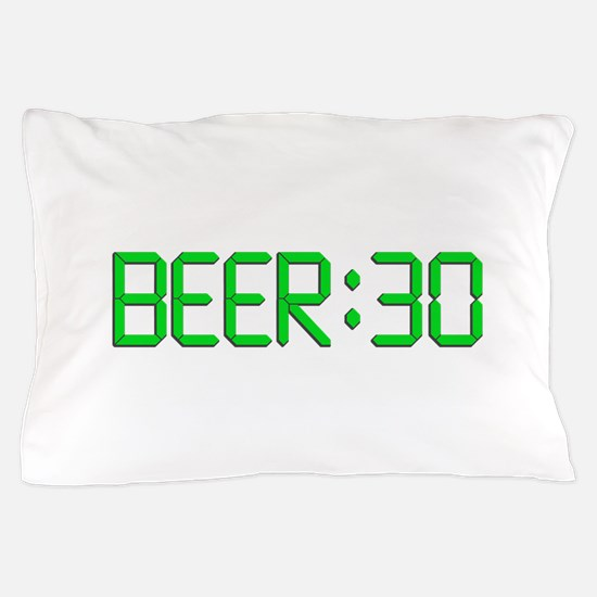 The Time Is Beer 30 Pillow Case