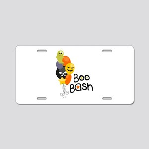 Boo Bash Aluminum License Plate