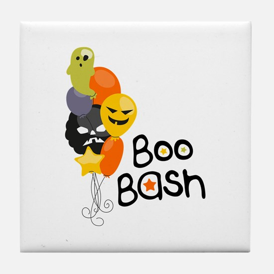 Boo Bash Tile Coaster