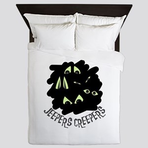 Jeepers Creepers Queen Duvet