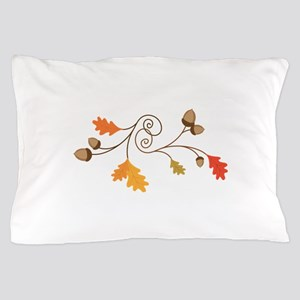 Leaves & Acorn Swirl Pillow Case
