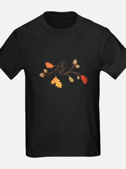 Leaves & Acorn Swirl T-Shirt