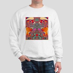 Red Meditation Sweatshirt