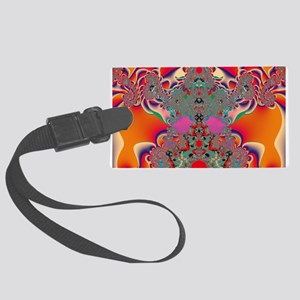 Red Meditation Luggage Tag