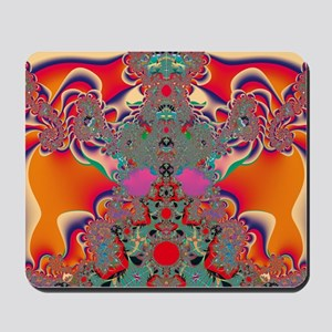 Red Meditation Mousepad