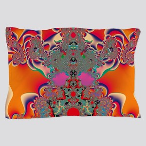 Red Meditation Pillow Case