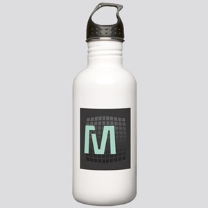 Cool Mint Monogram Stainless Water Bottle 1.0L